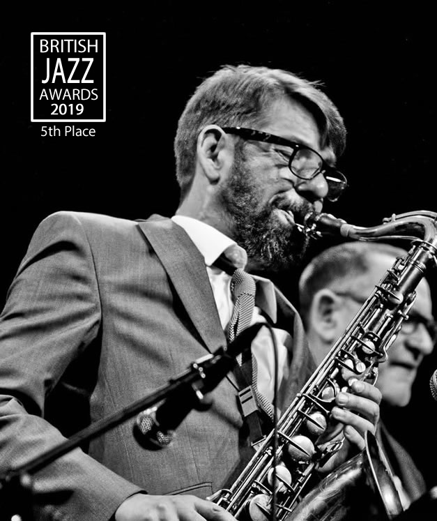 Dean Masser - 5th Place Tenor Sax, British Jazz Awards 2019